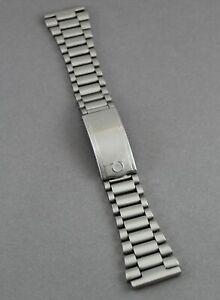 Vintage Omega 22mm Stainless Steel Bracelet no12 w/ 311 End Links. Ca 1974