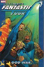 Ultimate  Fantastic Four Volume 7  God War SC  New  40% OFF