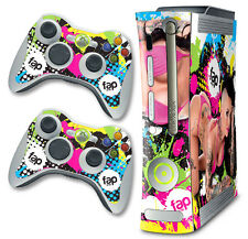 Skin Decal Wrap for Xbox 360 Original Console & Controller Fap Wrap CHRISTY MACK
