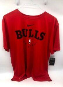 Nike NBA Chicago Bulls Essential Practice Dry Tee Sz 2XL BNWT AR5803-657 Rare