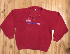 Molson Canadian Beer Best Seats in the House Vintage Red Sweater XL
