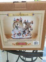 GRANDEUR NOEL musical waterglobe water globe collectors Edition 2000 Christmas