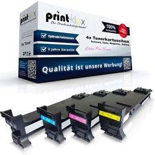 4x Reconstruir Toner para konica minolta Magicolor 5550k C M y - 4 Colores