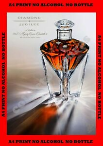 Johnnie Walker Queens DIAMOND JUBILEE Special Ed. - A4 size PRINT + FREE POSTAGE