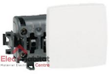 Interrupteur va et vient appareillage saillie composable - blanc Legrand 86101