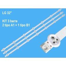 Kit strisce LED AGF78399701 AGF79056801 6916L1437A 6916L1438A LC320DUE-ABFR1 LG
