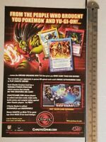 Chaotic Card Game RARE Print Advertisement