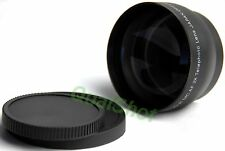 2X Telephoto Tele LENS 52mm 52 for Canon EOS Rebel Camera