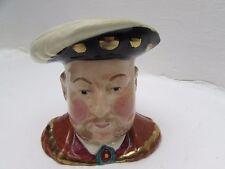 Fait à la main Staffordshire personnage pichet Henry VIII