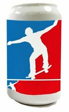 Spardose Nostalgie Skateboard Keramik bedruckt