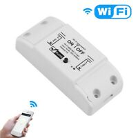 Smart Home WiFi Wireless Switch Remote Control Timer Adapter for iOS Android