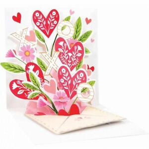 Pop-Up Greeting Card Trearures by Up With Paper - Heart Envelope