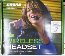 Shure BLX14/P31 Headset Microphone Stage Performance Wireless System H9 512-542