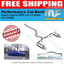 Magnaflow Street SS Cat-Back For 2009-2010 Impreza WRX Premium 2.5L Sedan #16856