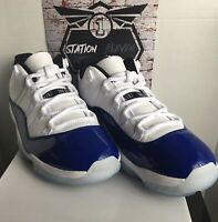 Jordan Retro 11 Low White Concord Size 12w / 10.5m DS OG All 100% Authentic
