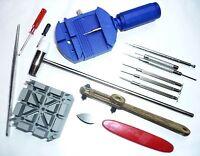 Uhrenwerkzeug Uhrmacherwerkzeug Uhrwerkzeug Uhr Werkzeug Reparatur Set 14teil.