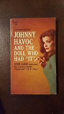 "John Jakes, ""Johnny Havoc and the Doll That Had ""It"","" 1963, Belmont 90-283, VG,"