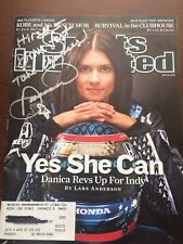 Autographed Danica Patrick Sports Illustrated Magazine