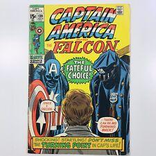 Captain America (Vol. 1) Issue 139 (1968-1996) Marvel Comics Falcon FN+