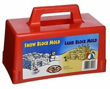 Snow Fort Building Block, Sand Castle Mold, Beach Toy Brick Form, 1 Mold (605)