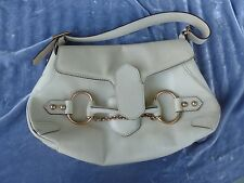 VINTAGE GUCCI HORSEBIT LEATHER HANDBAG