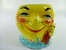 VTG  Roseville Pottery Over the Moon Hey Diddle Diddle Cookie Jar NO LID #317
