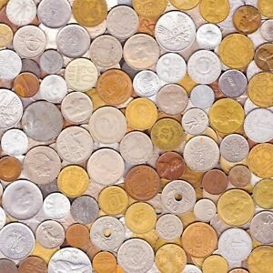 10 OLD COINS MADE IN 60's. DIFFERENT COLLECTIBLE COINS FROM SIXTIES 1960-1969