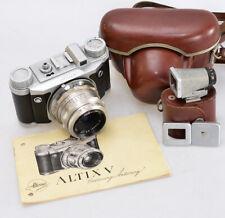 ALTISSA Altix V ⭐ kursiv + Tessar 2,8/50 Carl Zeiss Jena ⭐ Spezialsucher ⭐ (2996