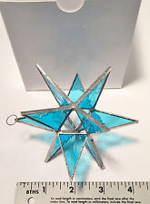 GIFT BOXED -  Handmade Stained Glass STAR    The Perfect Valentines Gift !