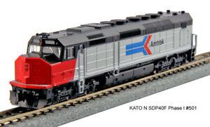 Kato N Scale SDP40F Locomotive Amtrak Phase I #501 DC DCC Ready 1769205