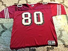 San Francisco 49ers Jerry Rice Red Jersey Adult 2X-Large 2XL XXL 52