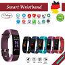 115Plus Bluetooth Smartwatch Armbanduhr Schrittzähler Uhr Sport Fitness Tracker
