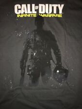 Call of Duty Infinite Warfare Mens T Shirt size Large New Grey Activision