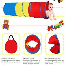 Portable Kids Pop-Up Crawl Tunnel Tube Play Tent Toy Indoors/outdoor Garden Game