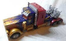 Transformers Movie DOTM Deluxe Optimus Prime - Lunarfire Gold Deco