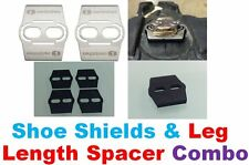 Leg Length cleat spacer shim CRANK BROTHERS EGGBEATER pedal + SHOE SHIELD +WEDGE