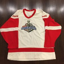 huge selection of aad08 558a0 2006 NHL Stanley Cup Final Coca-Cola CCM Jersey Adult Size L