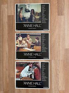 WOODY ALLEN Assorted Original Lobby Cards ANNIE HALL MIDSUMMER NIGHT'S SEX