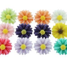 TFB - DAISY FLOWER STUD EARRINGS Fresh Cute Petal Bridesmaid Girl Prom Quirky