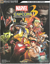 LOT # 764 MARVEL VS. CAPCOM 3:FATE OF 2 WORLDS TRADE PAPERBACK GAME GUIDE