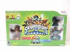 Nintendo Wii Skylanders Swap Force Starter Pack Game Portal 3 Figures In Box