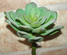 """Artificial 5"""" Hen and chicks Blossom Plants Indoor Outdoor Home Restaurant Decor"""