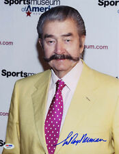 LeRoy Neiman Signed 11x14 Photo Femlin Playboy Sports Artist Psa/Dna Autographed