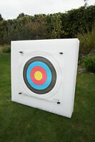 New Lightweight Archery 60x60cm Self Healing Foam Target Boss With 10 x Faces
