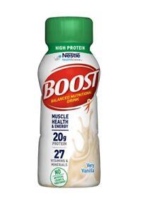 Nestle BOOST Balanced Nutritional Drink, 20g Protein 27 Vitamins & Minerals