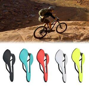 Creux Bicyclette Siège Neuf Nylon Fibre Course Bicyclette Selle Vtt Coussin
