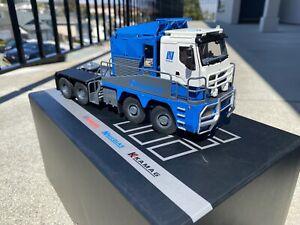 1:50 Nicolas Tractomas 4-Axle  IMC 60118059 NZG WSI heavy haul low loader transp