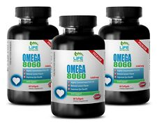 weight loss supplement - Omega 8060 1500mg 3 Bottles - reduce risk of allergies