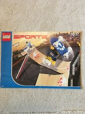 LEGO Construction Instruction Manual: 3537 Sports Skate Park