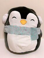 "Kellytoy Squishmallow 2020 Christmas Luna the Penguin 16"" Plush Doll Toy"